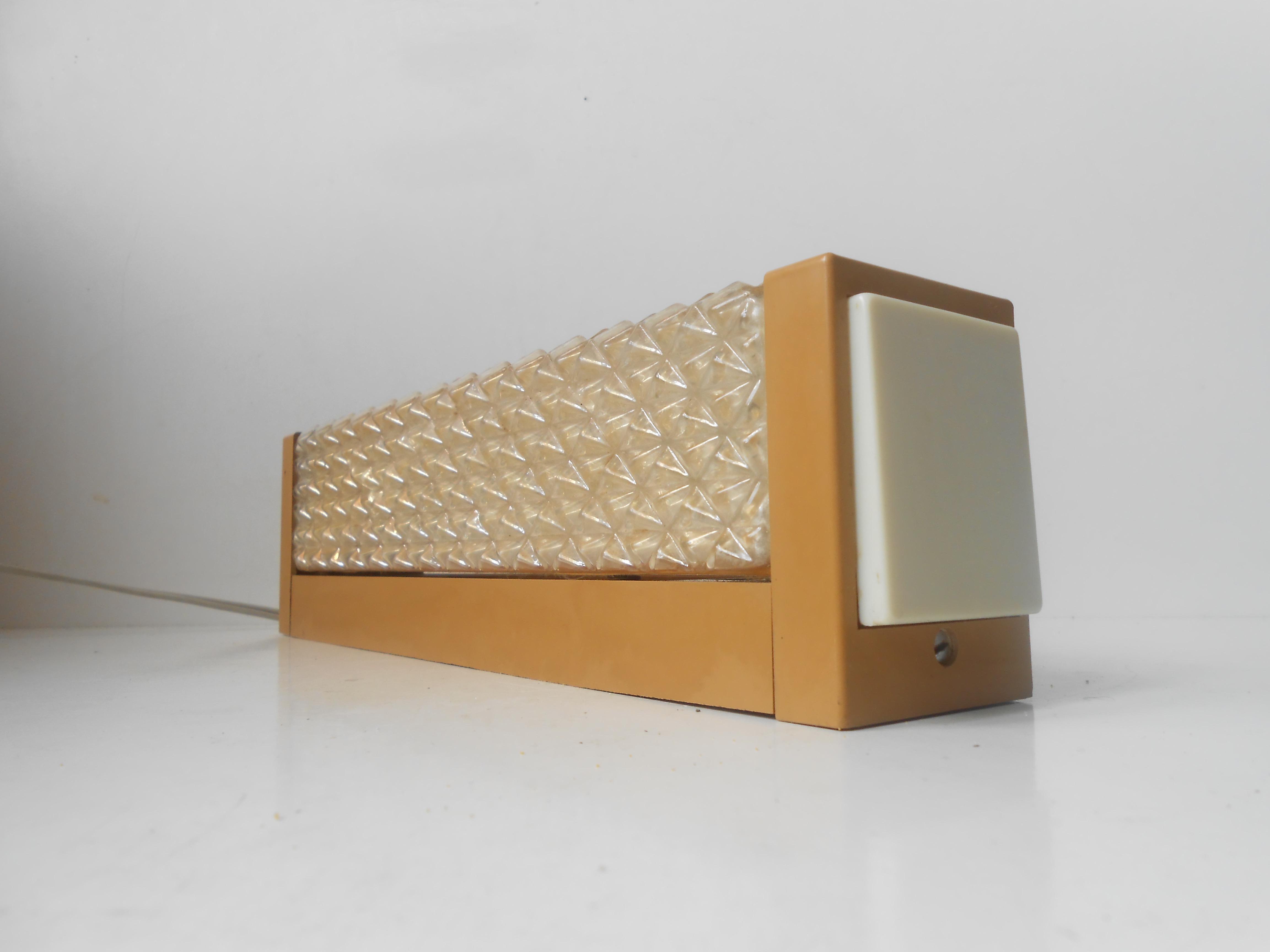 Vitrika v u00e6glampe u2013 sengelampe dansk design 1960 u2019erne