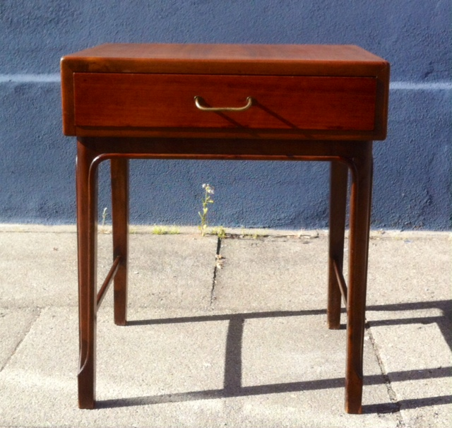 sengebord entr m bel af teak dansk design 1950 erne retro. Black Bedroom Furniture Sets. Home Design Ideas