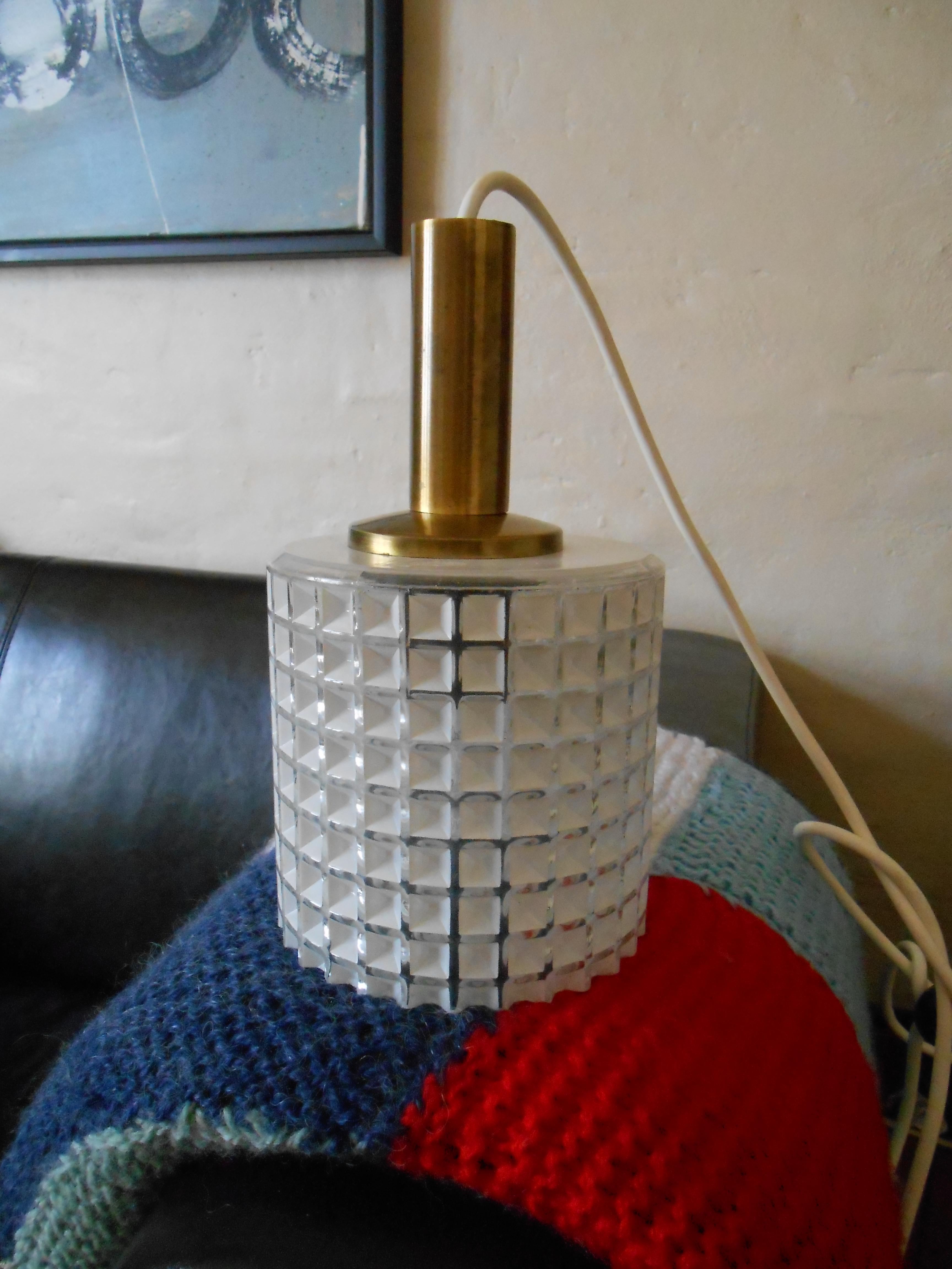 50'er lampe i presset glas: skandinavisk design 1950'erne – retro ...