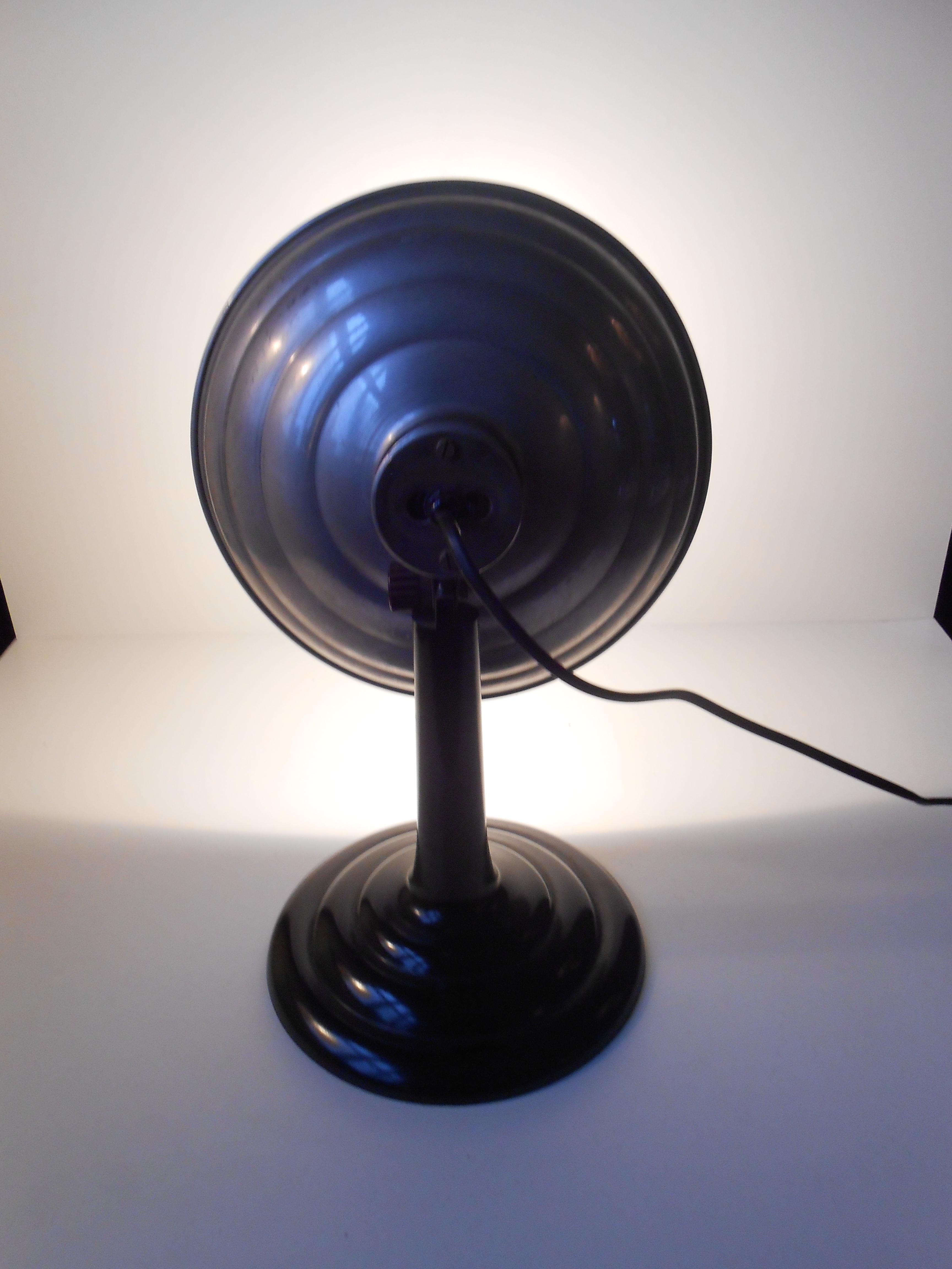 Industri / laege lampe: tysk design 1950?erne ? retro-design.dk