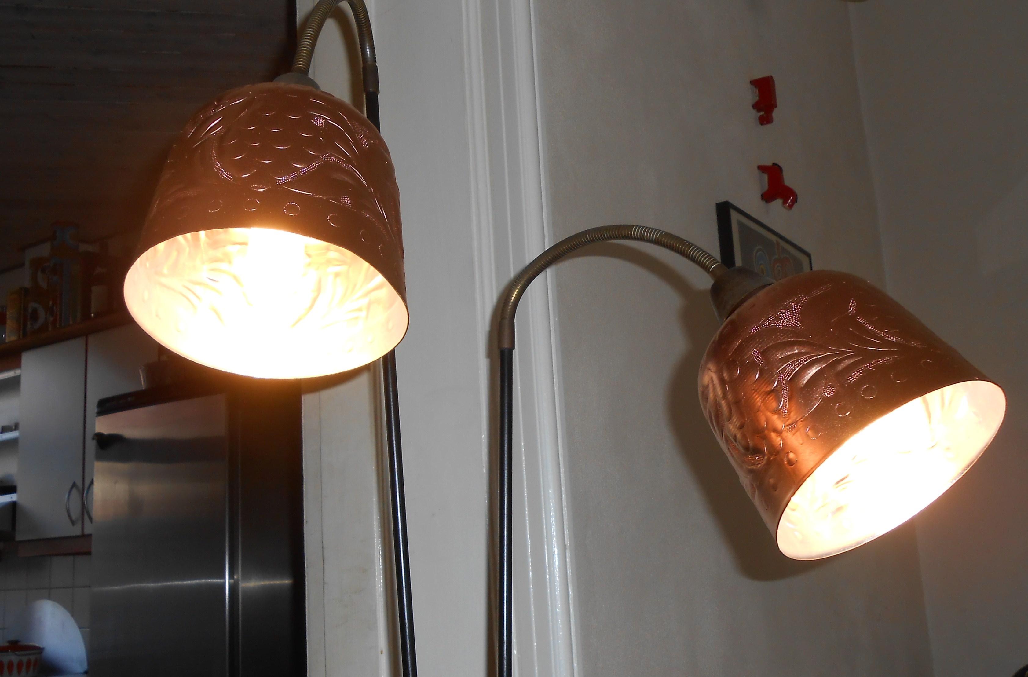 50'er standerlampe – gulvlampe: fransk design – retro-design.dk