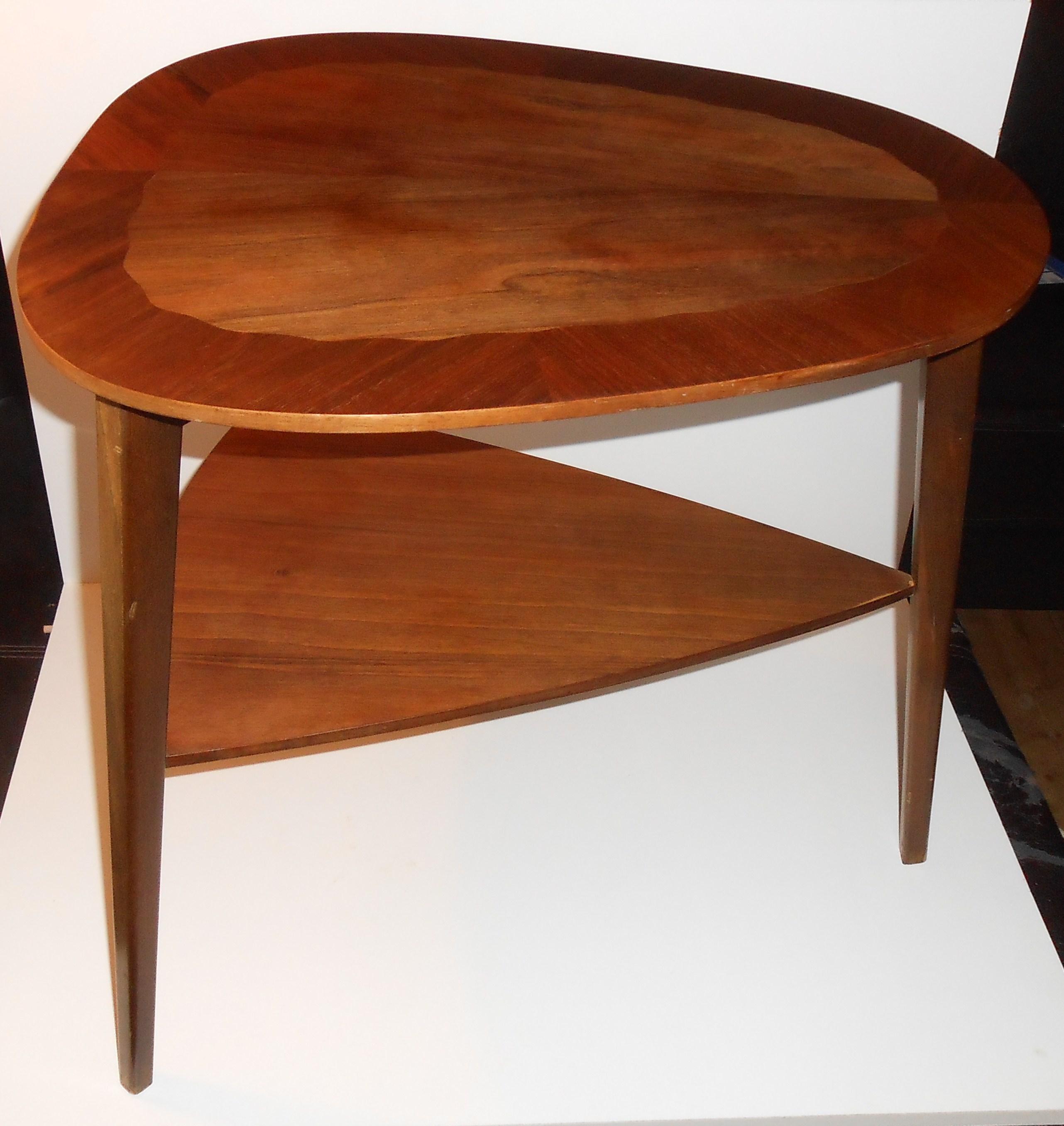 Organisk udformet sofabord i teak dansk design u2013 retro design dk