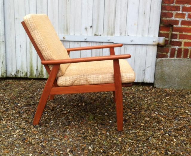 teak lænestol Lænestol af teak – easy chair: dk 1960'erne – retro design.dk teak lænestol