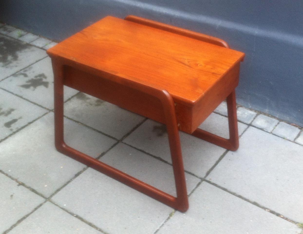 sybord entr m bel af teak sika m bler 1960 erne retro. Black Bedroom Furniture Sets. Home Design Ideas