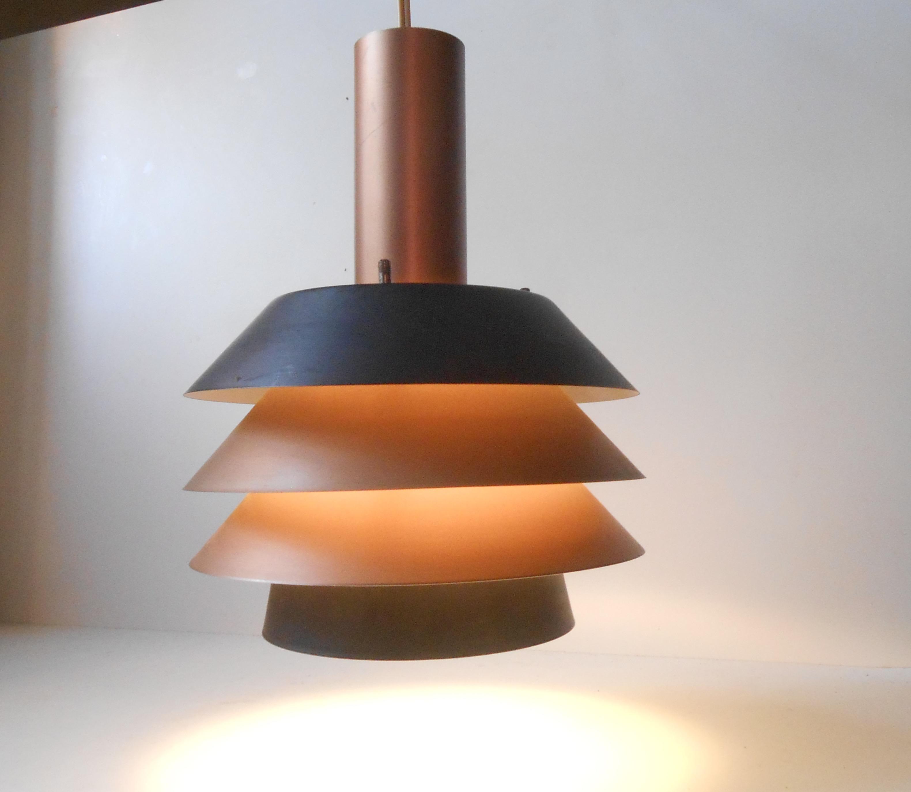 pendel retro Modernistisk pendel fra Lyfa: ca 1970 – retro design.dk pendel retro